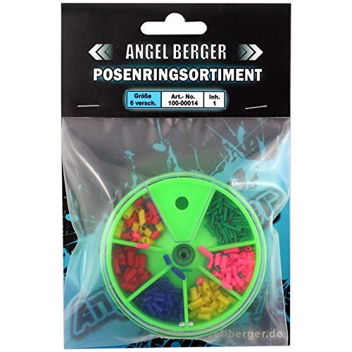 Angel-Berger Posenringsortiment Posenringe in Dose Posengummis