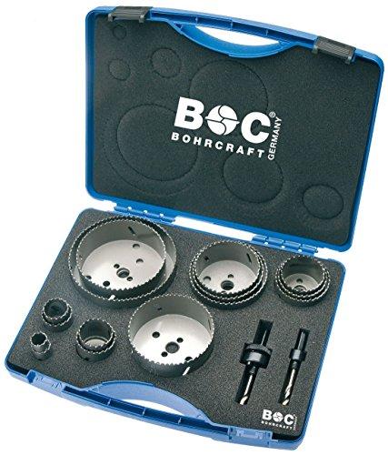 Craft HSS bilame Scie perçage dans coffret en plastique RLS 15, 17 pièces 19–127 mm avec adaptateur AS 11 et 33, 1 pièce, 19001330015