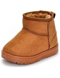 Matt Keely Baby Winter Shoes Kids Boy Girl Warm Snow Boots Toddler Plush Booties