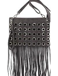e12d8a2cf5 Amazon.co.uk  Suede - Handbags   Shoulder Bags  Shoes   Bags
