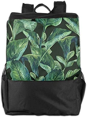 Unisex Tropical Tropical Tropical Leaves.jpeg Print Custom Casual School Bag Backpack Multipurpose Travel ypack | Grande vendita