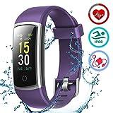LATEC Orologio Fitness Tracker Android iOS Cardiofrequenzimetro Monitor per la...