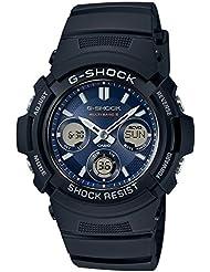 Casio Men 's Watch G-shock The World Six estaciones Solar Radio awg-m100sb-2ajf