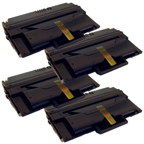 Preisvergleich Produktbild 4x Laser-Toner XL Schwarz kompatibel zu Dell 2335 2335DN 2355DN 593-10329 HX756 PlatinumSerie