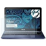 Bruni Schutzfolie für ASUS EeeBook X205TA Folie - 2 x glasklare Displayschutzfolie