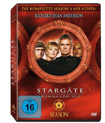 Stargate Kommando SG 1 - Season 4 Box  (5 DVDs)