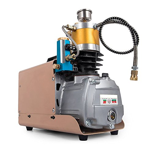 Anhon Hochdruckelektrische Luftpumpe 110 V 30MPa 4500 PSI Luftkompressorpumpe PCP 100L / Min Elektri Anhon (100LPM)