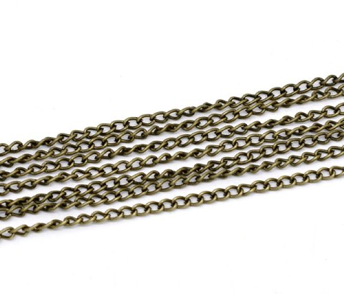 5-metres-length-of-antique-bronze-4mm-x-3mm-link-open-curb-chain-for-jewellery-making-and-art-crafts