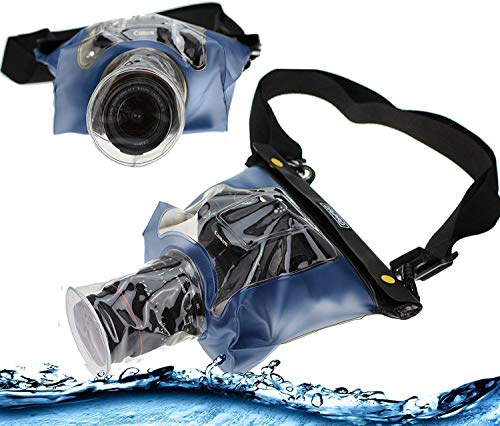 Navitech BlueDSLR SLR Waterproof Underwater Housing Case/Cover Pouch Dry Bag Compatible with theKodak PIXPRO AZ421