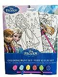 KSS Disney Frozen Die Eiskönigin Malset Malen nach Zahlen 2 Bilder im Set