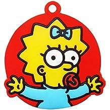 La cubierta de la llave Simpsons Maggie (rojo) SSKC220