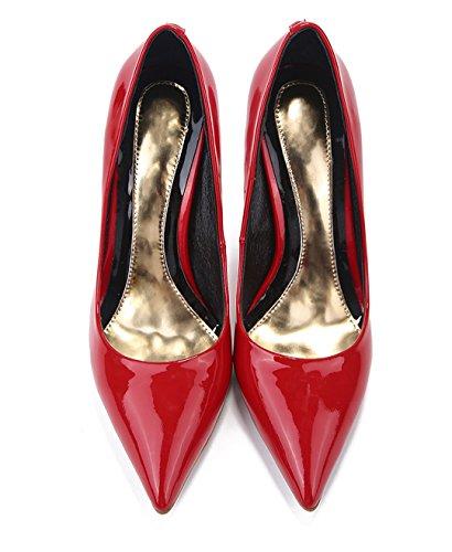 TDA , Sandales Compensées femme red