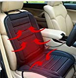 Picture Of XtremeAuto® 12v Universal Heated Car Heater Seat Hot Cushion Cover Complete with XtremeAuto Sticker