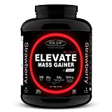 Sinew Nutrition Elevate Mass Gainer with Digestive Enzymes - 3 kg (Strawberry)