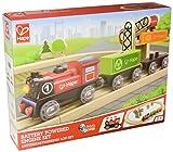 Hape E3721 Kleinkindspielzeug Batteriebetriebenes Lok-Set