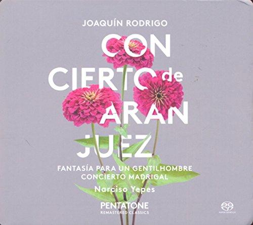 Concierto de Aranjuez pour guitare et orchestre - Fantasía para un gentilhombre pour guitare et petit orchestre - Concierto madrigal pour 2 guitares et orchestre