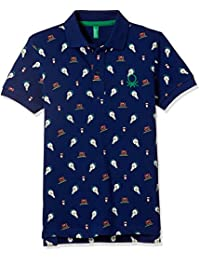 United Colors Of Benetton Boys' Polo (17A3089CZS17I902M_Multi-coloured)
