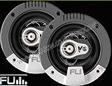 "FLI Audio Integrator 4"" inch 100mm 3-Way Triaxial 150 Watts Car Door Coaxial"