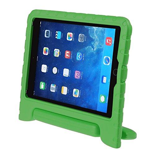 iPad 9.7 2017 Kinder Schutzhülle LEADSTAR Kinderfreundlich Kinder Schutz Hülle EVA Case Leichte Stoßfeste Schutzhülle Tasche Cover für Apple iPad Air / iPad Air2 / iPad 9.7 2017 (Grün)