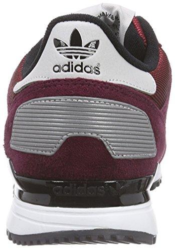 adidas Originals ZX 700, Sneakers basses homme Rouge (Collegiate Burgundy/Lgh Solid Grey/Core Black)