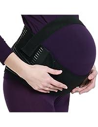 Ceinture de maternité, soutien lombaire et abdominal lors de la grossesse, support pour femme enceinte - de marque NEOtech Care (TM ) - Couleur noire - Taille M (voir description)