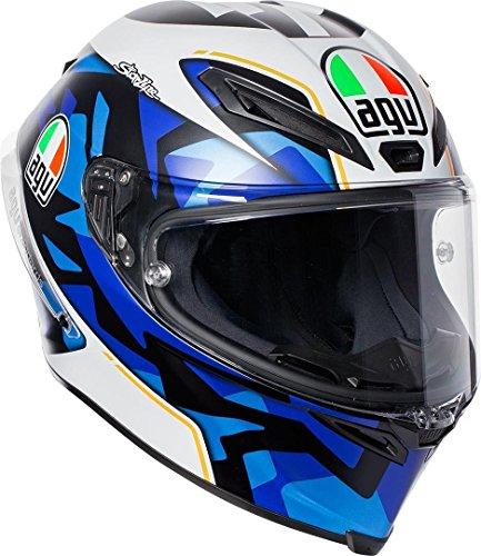 AGV Motorradhelm Corsa R E2205 Replica PLK, Espargaro Blau 2017, Größe MS Off Road Hose Riding Gear