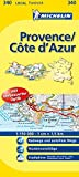 Michelin Provence - Cote d'Azur: Straßen- und Tourismuskarte -
