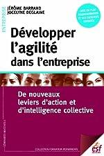 Développer l'agilité dans l'entreprise - De nouveaux leviers d'action et d'intelligence collective de Jérôme Barrand