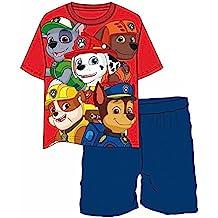 Conjunto Pijama Patrulla Canina Team Red