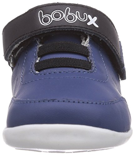 Bobux 460784, Baskets Basses garçon Bleu - Blau (cobalt)