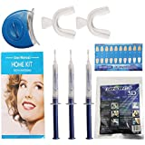 G-smart Blanchiment des dents Kit. Pro Accueil Tooth soins dentaires Blanc 3x GEL Bleaching Kit Advanced Light Whitener