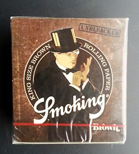 comprare on line smoking cartine marroni king size - 50 libretti prezzo