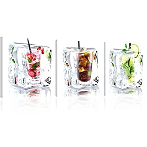 murando acrylglasbild drink 120x40 cm glasbilder. Black Bedroom Furniture Sets. Home Design Ideas