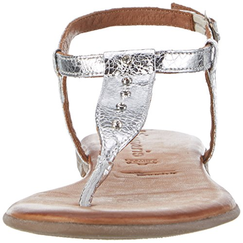 Tamaris Damen 28133 Offene Sandalen Silber (SILVER 941)