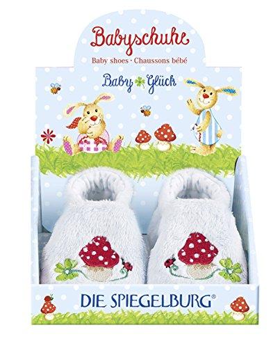Blau 9365 Babyglück Spiegelburg Die Babyschuhe x4ZIq4