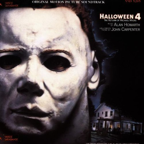 Alan Howarth: Halloween IV Original Soundtrack [SOUNDTRACK] (1993-07-01)