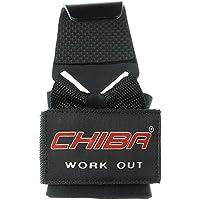 Chiba Trainingshilfe Latzughaken (Powerhook) - Máquina de espalda (100 kg), color negro, talla Talla única