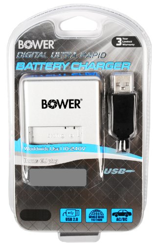 Bower XC-SFP50 Auto/Indoor Battery Charger - Battery Chargers (50/60, Sony FP/FV/FH, Auto/Indoor) Bower Camcorder