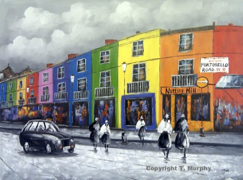 old-london-portobello-road-in-notting-hill-grosse-kunst-ol-auf-leinwand-gemalde-hervorragende-qualit