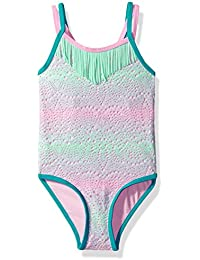 LiMiTeD Too Girls' Ombre Crochet Overlay 1pc Swim