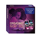 Durex Intense Orgasmic Night Box y Gel Estimulante - 12 preservativos