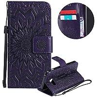 Gurt Brieftasche für Galaxy A3 2017 A320,Lila Handyhülle für Galaxy A3 2017 A320,Moiky Ziemlich Schöne Mandala... preisvergleich bei billige-tabletten.eu