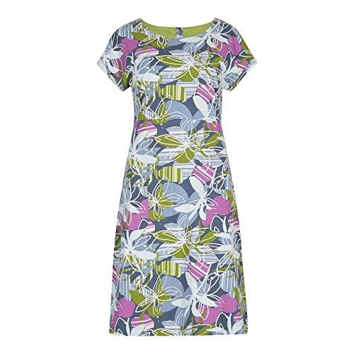 Weird Fish Tallahassee Printed Cotton Jersey Dress
