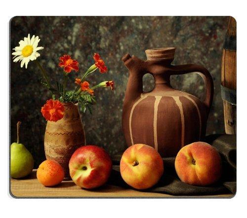 Allgemeine Hohe Qualität Pear Fruit Apricot Nektarine Blume Vase Maus Pads
