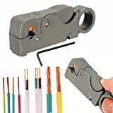quici Automatische Abisolierzange Klemme Werkzeug Cutter Crimpen Kabel Line Zange verstellbar für RG 58/59/62/3C/4C Koaxialkabel