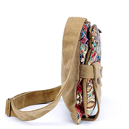 Chang Spent stampa vento nazionale marea del pacchetto sacchetto del messaggero delle donne , yellow Yellow