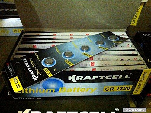 Preisvergleich Produktbild 10 x Olympia 3V Knopfzellen CR1220/CR-1220/CR 1220