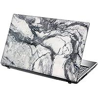 """TaylorHe Laptop Skin Pegatina de vinilo Adhesivo para portátiles 15,6"""" 15"""" (38cm x 25,5cm) Productos de Gran Bretaña mármol blanco"""