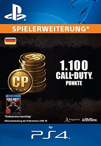 1.000 (+100 Bonus) Call of Duty-Punkte [Spielerweiterung] [PS4 PSN Code - deutsches Konto]