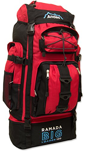 Andes Ramada 120L Extra Large Hiking Camping Backpack/Rucksack Luggage Bag